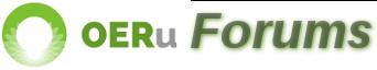 OERu Forums